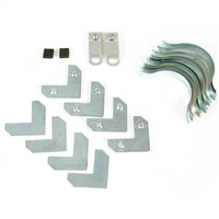 Nielsen Metal Frame Hardware <BR> ( Packaged Set )