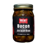 Meat Maniac Bacon Flavored Jalapenos (16oz)