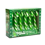 Pickle Flavored Candy Canes (6-pack)