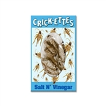 Crick-ettes: Salt n' Vinegar