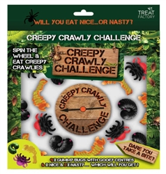 Creepy Crawly Gummy Insect Challenge