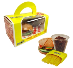 Sweet Candy Deal Combo- Gummy Burger, Fries & Cola