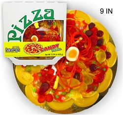 Mini Candy Gummy Pizza (3oz)