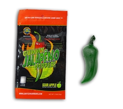 Gummy Jalapeno Pepper (Mild Heat)