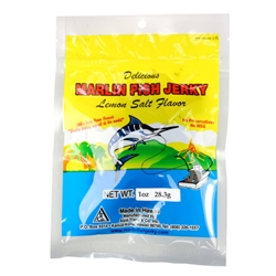 Lemon Salt Marlin Fish Jerky (1oz)