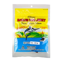 Onion Pepper Marlin Fish Jerky (1oz)