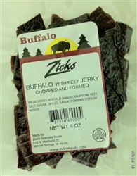 Zicks Buffalo Beef Jerky (6oz)