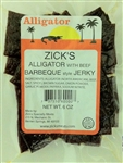 Zicks BBQ Alligator Beef Jerky (6oz)
