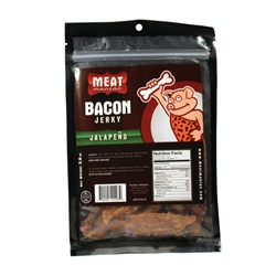 Meat Maniac Jalapeño Bacon Jerky (2oz)