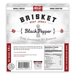Meat Maniac Black Pepper Brisket Jerky