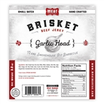 Meat Maniac Garlic Head Brisket Jerky