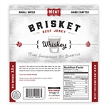 Meat Maniac Whiskey Brisket Jerky