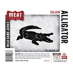 Meat Maniac Cajun Alligator Jerky (2oz)