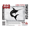 Meat Maniac Lemon Pepper Swordfish Jerky (3oz)