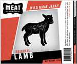 Meat Maniac Original Lamb Jerky (1.75oz)