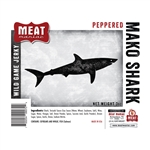 Meat Maniac Peppered Mako Shark Jerky (3oz)