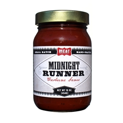 Meat Maniac Midnight Runner Barbecue Sauce (16oz)