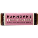 Hammond's Pigs n' Taters Milk Chocolate Bacon Bar (2.25oz)