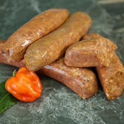 Bison Chipotle Sausages- 4 each (3oz links)