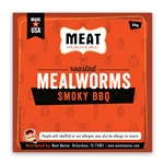 Meat Maniac Smoky BBQ Mealworms (56g)