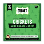 Meat Maniac Sour Cream & Onion Crickets (56g)