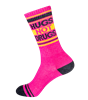 Hugs Not Drugs Gym Socks