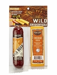 Wild Boar Summer Sausage & Sharp Cheddar Cheese Gift Pack