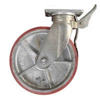 "12"" Caster Wheel With Brake"