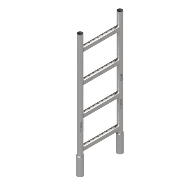 3' Steel Ladder 14""