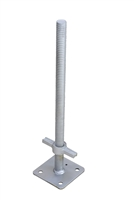 "24"" Screw Jack w/Base Plate (1-3/8"")"