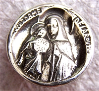 1186 - Button - Our Lady of the Road - 3/4""