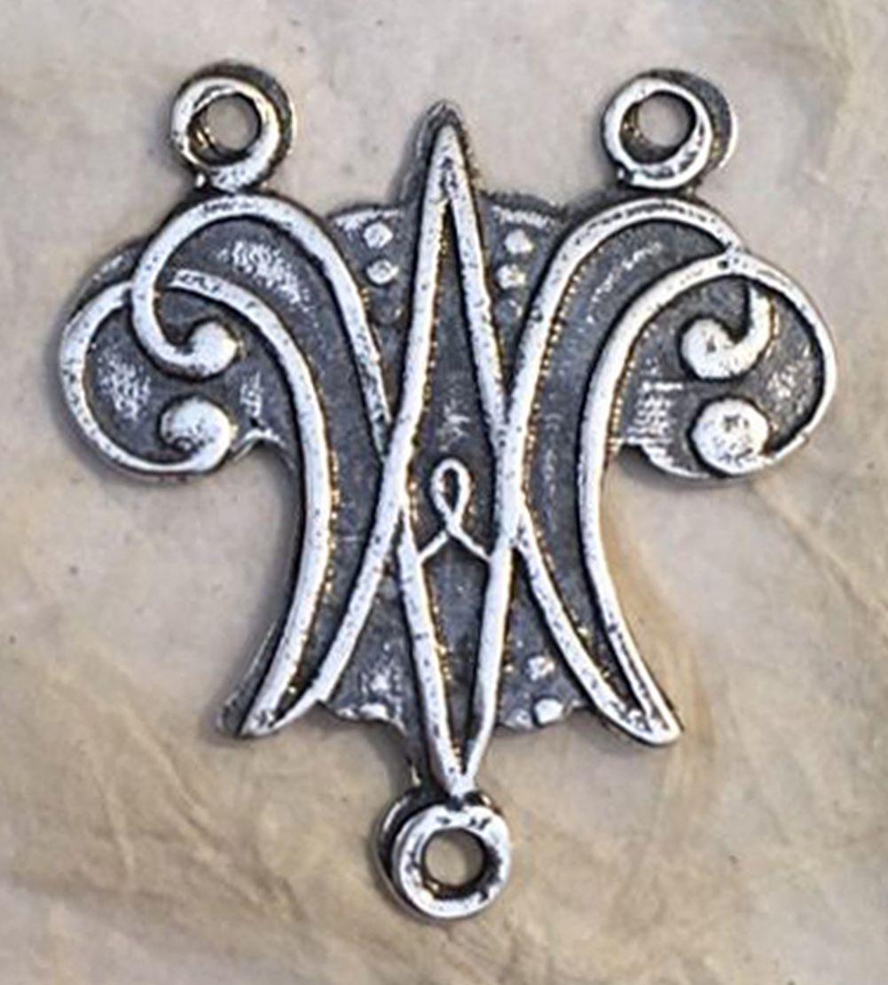 Ave Maria Medal, Rosary Center 1