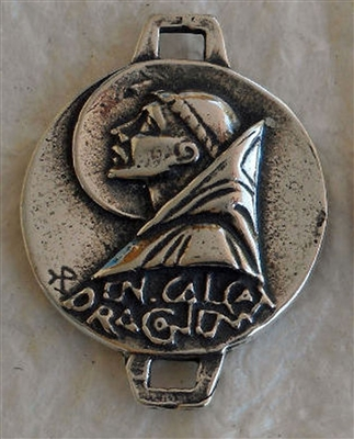 1338 LINK/BEAD St. Benedict Prayer by Fernand Py 3/4""