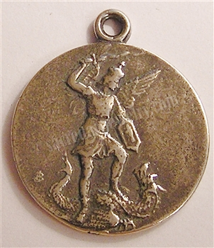 St Michael Medal, Our Lady of Remedies 1 1/4""