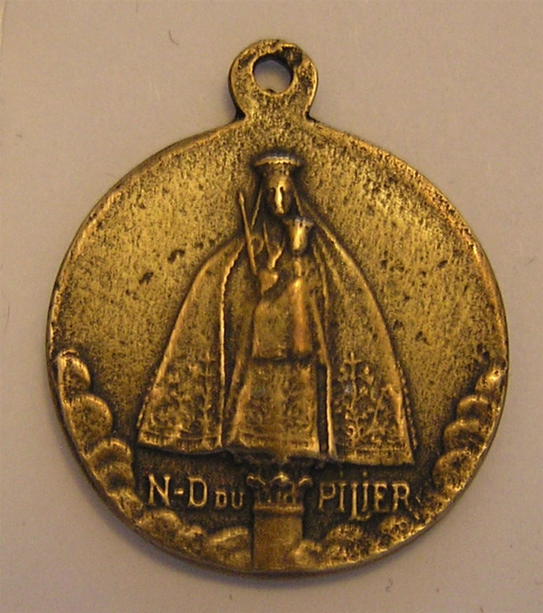 Our Lady of the Pillar Medal 1 1/8