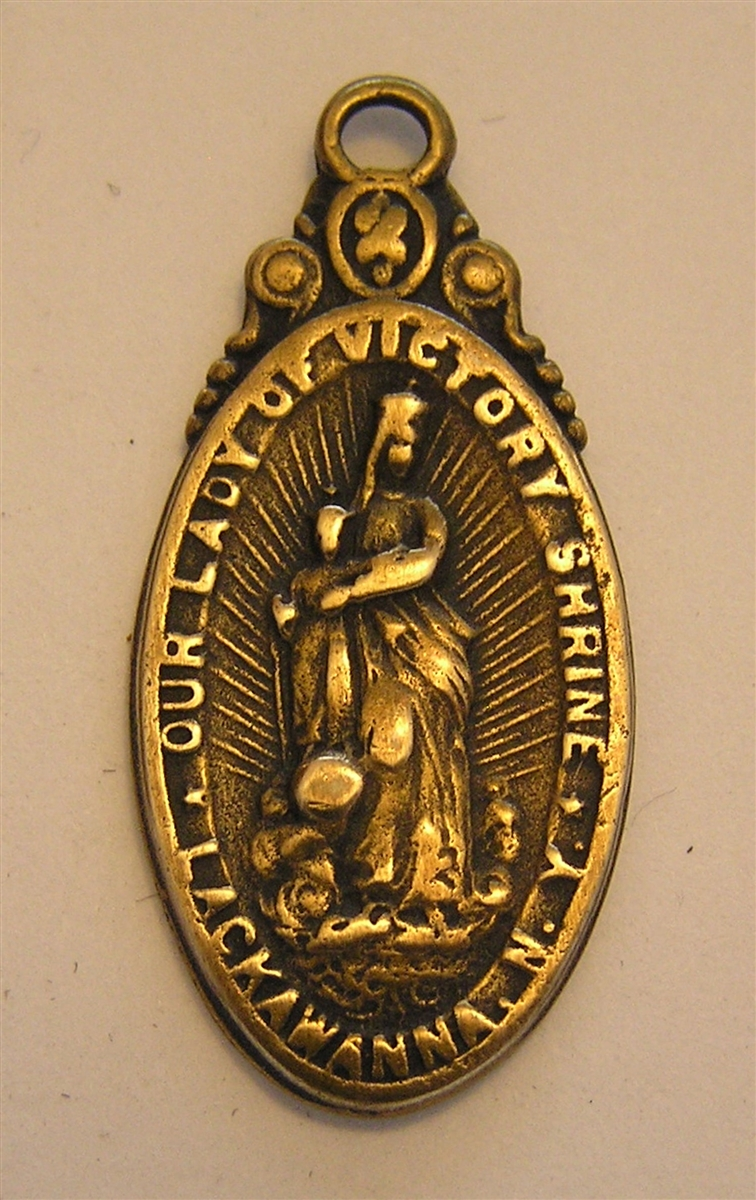 Blessed Mother Medal, Our Lady of Victory 1 1/2