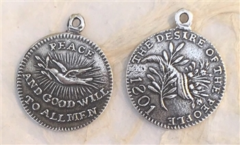 World Peace Medal 3/4""