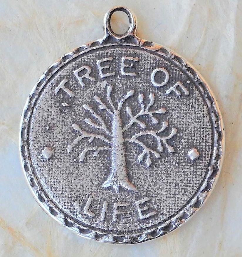 "8/"" Sterling Silver Mini Miraculous Medal Dangle Cross Rosary Bracelet 7/"""