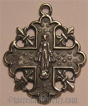Miraculous Mary Medal 1""