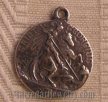 Saint George Medal 7/8""