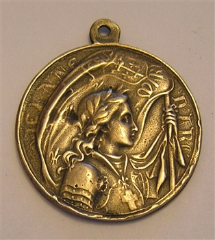 Joan of Arc Medallion 1 1/4""