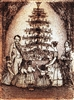 Quality Print Victorian Christmas Scene