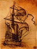 Giclee Art Print English Tudor Galleon