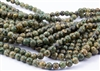 8mm Natural Agate Tibetan Style Dzi Round Beads - Aquas / Creams / Browns / Picasso Eyes