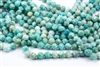 9mm Natural Amazonite Faceted Nugget Beads
