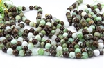 10mm Natural Chrysoprase Gemstone Round Beads