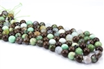 12mm Natural Chrysoprase Gemstone Round Beads