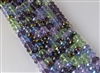 5x8mm Faceted Crystal Designer Glass Rondelle Beads - Irish Jig Mix