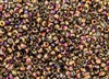 6/0 Czech Seed Beads - Etched Crystal Full Sliperit