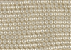3mm Glass Round Pearl Beads - Off White / Cream